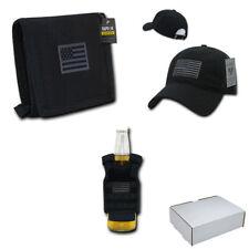 Patriotic USA Flag Gifts Box Set for Men Dad Husband Son Wallet Beer Cooler Cap