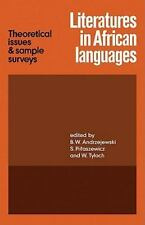Literatures in African Languages: Theoretical Issues and Sample Surveys (Paperba