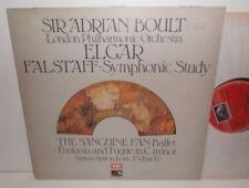 ASD 2970 Bach trans Elgar Fantasia & Fugue London Philharmonic Orch Boult HP TAS