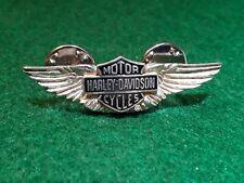 Vintage Harley-Davidson (Sterling) Wings Badge Pin