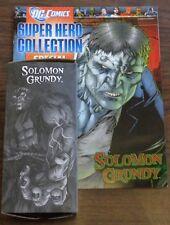DC Comics Super Héroe Colección Especial Solomon Grundy estatuilla & Mag EAGLEMOSS <