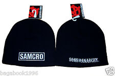 SOA Sons of Anarchy SAMCRO Toque / Beanie   ( NEW )  CAP16