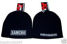SOA Sons of Anarchy SAMCRO Toque / Beanie   ( NEW )  CAP16
