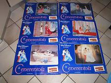 SET 6 FOTOBUSTE CENERENTOLA WALT DISNEY CINDERELLA