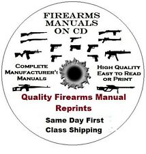 Colt Gold Cup National Match Mkiv Series 70 Firearms Gun Manual on CD