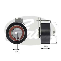 Tensioner Pulley Ribbed for CITROEN BERLINGO / FIRST MPV