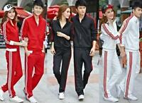 Men Women Casual Tracksuit Jogging Gym Sport Suit Run Lovers Jacket Pants Suits