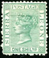 HERRICKSTAMP SIERRA LEONE Sc.# 10 Mint Hinged Scott Retail $525.00