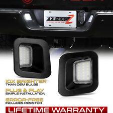 2003-2018 Dodge Ram Truck BUILT-IN RESISTOR LED License Plate Light Full Housing