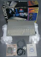 Atari 520 ST STFM Computer Discovery Pack TOS 1.04 STM1 Mouse Games BOXED