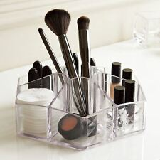 Acrylic Display Organiser 7 Compartments Clear Make Up Brushes Draw Jewellery