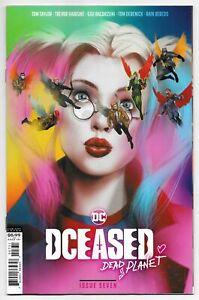 DCeased Dead Planet #7 Ben Oliver Movie Homage Variant (DC, 2021) NM