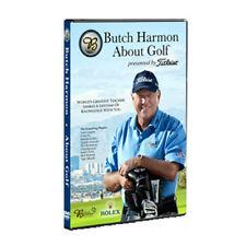 Butch harmon - about golf dvd set, New DVD, Dustin Johnson, Greg Norman, Ernie E
