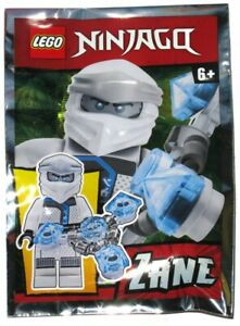 NEW LEGO NINJAGO ZANE MINIFIG FOIL PACK minifigure figure legacy 891957 polybag