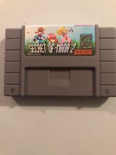Secret of Mana 2 Seiken Densetsu 3  (SNES, 1995) - USA NTSC Version