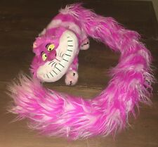 "Alice In Wonderland Cheshire Cat Plush Disney Parks Long Tail Scarf Boa 54"" Doll"