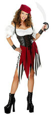 Disguise Sexy Adult Deck Hand Darling Women's Pirate Costume 12-14
