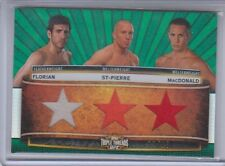 2012 Topps UFC Knockout Kenny Florian Geroges St-Pierre Rory MacDonald 11/18