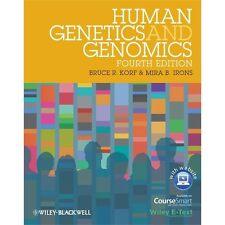 Human Genetics and Genomics. 4th Ed. Mira B. Irons and Bruce R. Korf.