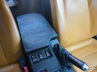 FITS NISSAN 350Z Z33  ARMREST PADDED BLACK LEATHER 2002+ NEW