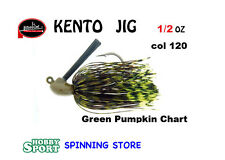 MOLIX KENTO JIG 1/2 OZ COLORE 120 GREEN PUMPKIN CHART