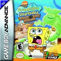 SpongeBob Squarepants: Revenge of the Flying Dutchman, (GB Advance)