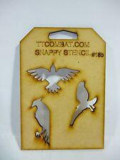 Wargames Mperial espacio marino aves de presa Eagles Snappy esténcil # 18b