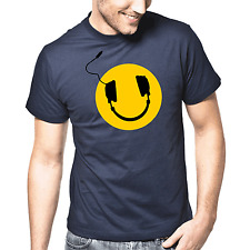 Headphones Smiley Music Club DJ Funky Funk House Electronic House Groove T-Shirt