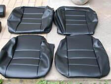 BMW 635CSI E24 L6 87-89 COMFORT SEAT KIT BLACK VINYL UPHOLSTERY KITS NEW