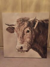 Toni Hargreaves Original Cow Painting
