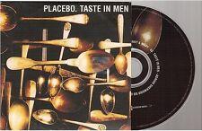 PLACEBO taste in men CD SINGLE card sleeve