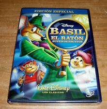 Basil die Maus Detektiv Klassische Disney nº 26 DVD Neu (Ohne Offen ) R2