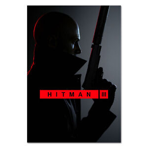 Hitman 3 Game Poster - Official Art - High Quality Prints