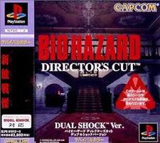 BIOHAZARD Director's cut Dual Shock  Ver.   PS BIO HAZARD Japan