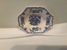 A Mason's Fruit Basket Blue Multi Colored Small Nut / Sweet Meat Dish
