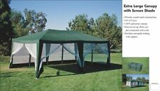 12ft x20ft Screen House, Party Tent,Sun Shelter,Gazebo,Canopy. Green , New20