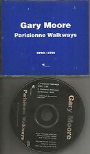 Thin Lizzy GARY MOORE Parisienne Walkways w/ RARE EDIT PROMO CD single 1993 USA