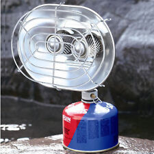 Outdoor Heating Stove Burning Butane Gas Stove Heaters Warmer Camping DoubleHead