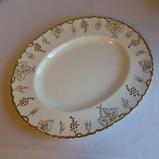 Royal Crown Derby Vine Gold, Turkey Platter, 15 inch