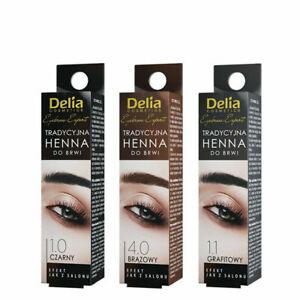 Delia - 1 HENNA POWDER Eyebrow Tint (1 Application)