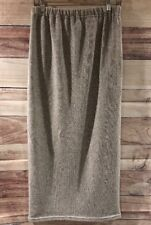 Thyme Maternity Womens Heathered Gray Long Straight Pencil Skirt Sz Medium LBB76