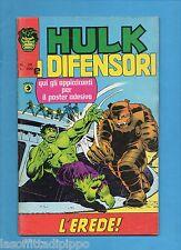 SUPER EROI - HULK E I DIFENSORI - CORNO -N.26- 4 MARZO 1976 - NON DI RESA