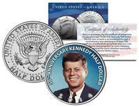 2014 JFK 50th Anniversary Color Half Dollar Coin John F. Kennedy Collectible