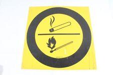 Notice Sign Plastic Shield Symbol Open Light Smoking