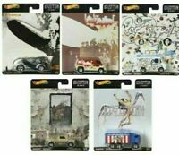 2019 Hot Wheels Led Zeppelin Set of 5 Cars Pop Culture 1/64 Diecast Cars Vehicle