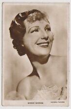 Cinema Star postcard - Binnie Barnes - RP