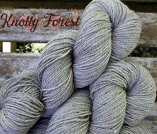 New ListingDye Free Yarn Thunderhead Gray Dusk Sock Merino Yak 437y 100g Knotty Forest Yarn