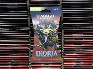 Magic The Gathering IKORIA Lair Of Behemoths Collector Booster Pack - Sleeved