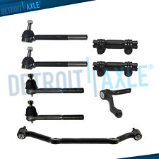 2WD Front Inner Outer Tierods + Idler Arm Kit for Chevy Blazer S10 GMC Jimmy