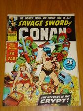 CONAN SAVAGE SWORD #8 BRITISH WEEKLY 1975 APRIL 26TH